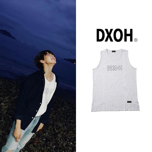 [DXOH] LOGO SLEEVELESS 2COLOR_NCT