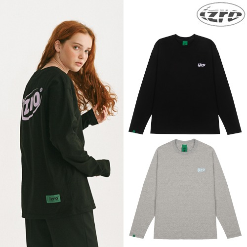 [9/6予約配送][IZRO] INTERNET LOGO LONG SLEEVE 2COLOR