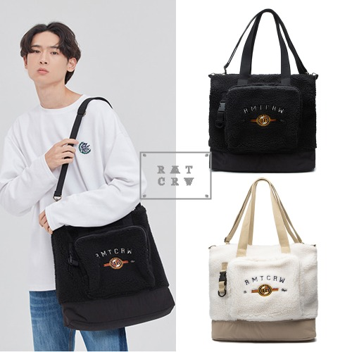 [ROMANTICCROWN] YETI TOTE BAGS 2COLOR