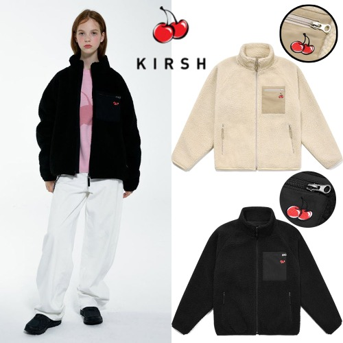 [KIRSH] CHERRY BEAR JACKET IA 2COLOR