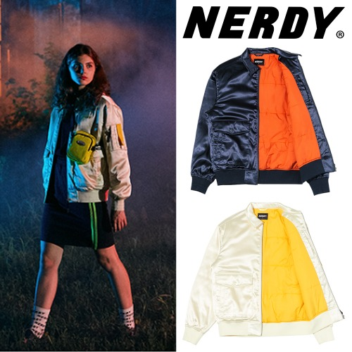 [NERDY] AVIATOR JACKET 2COLOR
