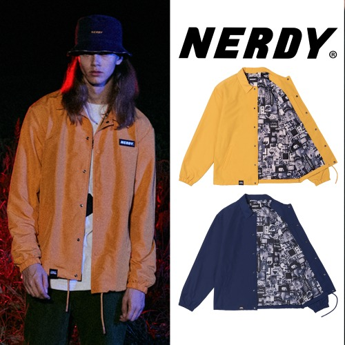 [NERDY] COACH JACKET 2COLOR