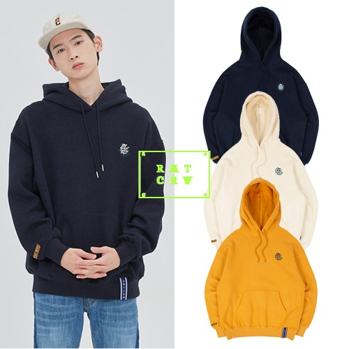 [ROMANTICCROWN] RMTCRW FLAG LOGO HOOD 3COLOR