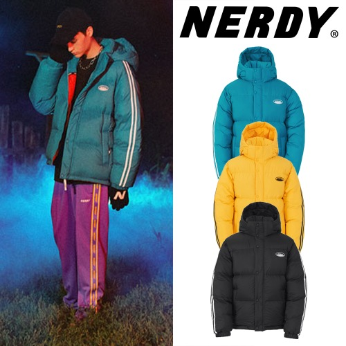 [NERDY] COLOR BLOCK REVERSIBLE DOWN 3COLOR