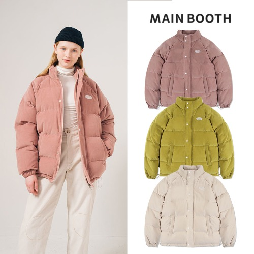 [MAINBOOTH] DUCK DOWN CORDUROY JUMPER 3COLOR