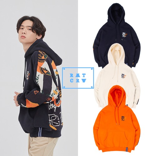 [ROMANTICCROWN] 21C BOYS JACQUARD HOOD 3COLOR