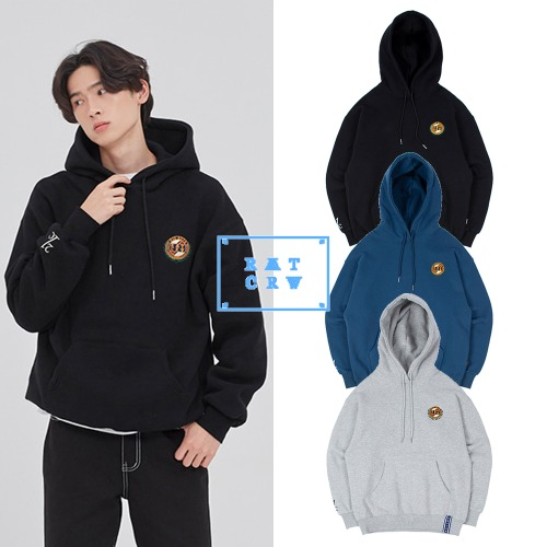 [ROMANTICCROWN] 21C BOYS BIG LOGO HOOD 3COLOR