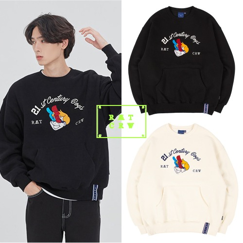 [ROMANTICCROWN] BOYS CREWNECK 2COLOR