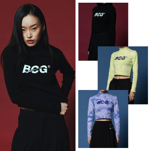 [BORNCHAMPS] BCG CROP LONG SLEEVE CESCGTS02 3COLOR
