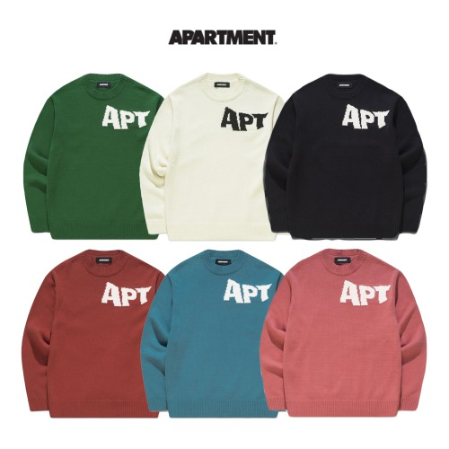 [APARTMENT] SYAME KNIT 6COLOR