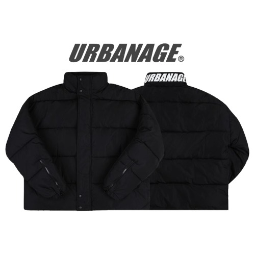 [URBANAGE] 8OZ DUCK DOWN OVER SHOT PADDING BLACK