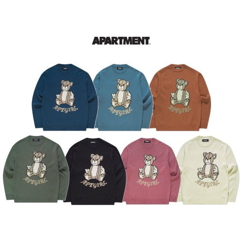 [APARTMENT] JINBEAR KNIT 7COLOR