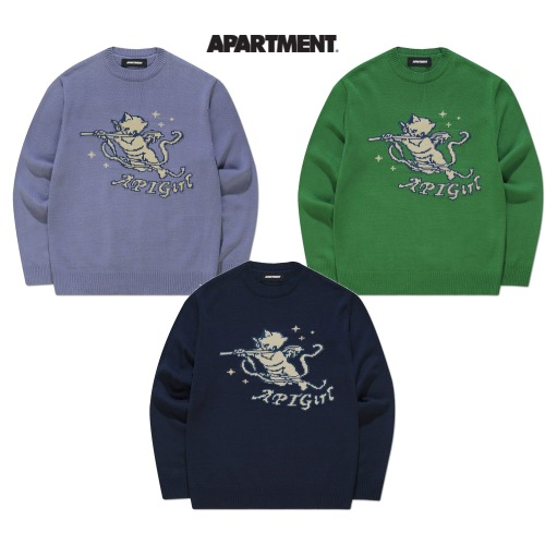 [APARTMENT]SONG CAT KNIT 3COLOR