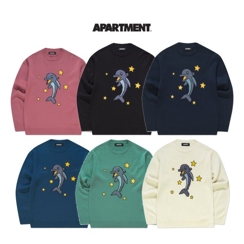 [APARTMENT] TACHI KNIT 6COLOR