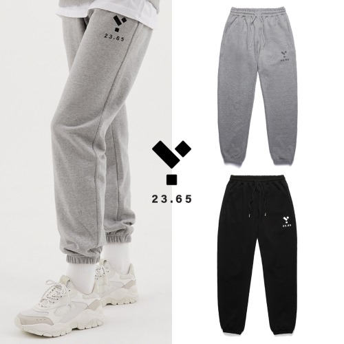 [23.65] LOGO PANTS 2COLOR