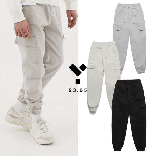 [23.65] CARGO JOGGER PANTS 3COLOR