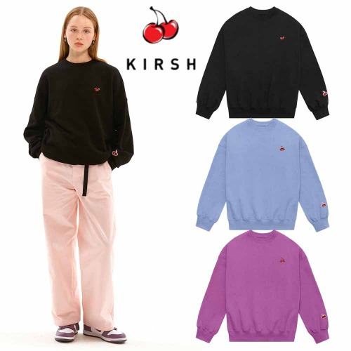 [KIRSH] SMALL CHERRY SWEATSHIRT JS 3COLOR