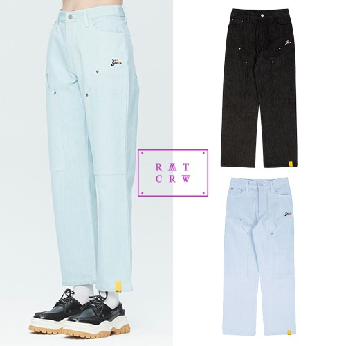[ROMANTICCROWN] GNAC LAYER PANTS 2COLOR