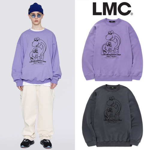 [LMC] LMC DINO OVERSIZED SWEATSHIRT 2COLOR