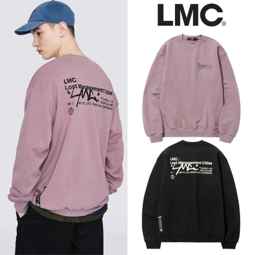 [LMC] LMC SIGNATURE SWEATSHIRT 2COLOR