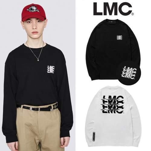 [LMC] LMC NOISE LONG SLV TEE 2COLOR