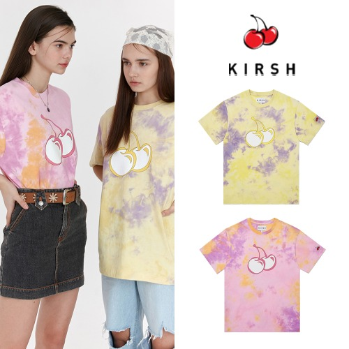 [KIRSH] TIE DYE HEAT SENSING T-SHIRT JH 2COLOR