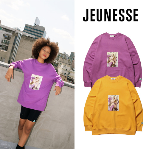 [JEUNESSE] CUPIDO VERY OVER-SIZED SWEATSHIRTS 2COLOR