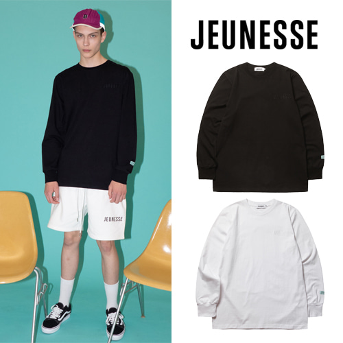 [JEUNESSE] PAINT BACK LS TEE 2COLOR