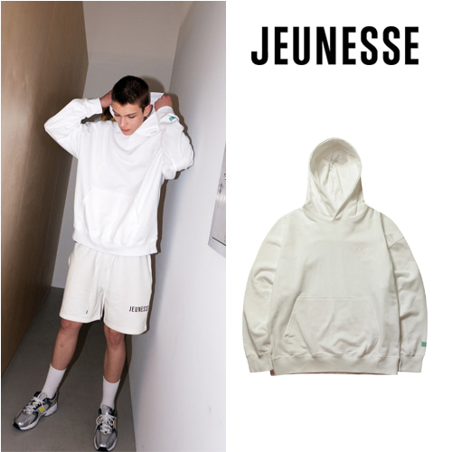 [JEUNESSE] CUPIDO VERY OVER-SIZED HOODIE WHITE