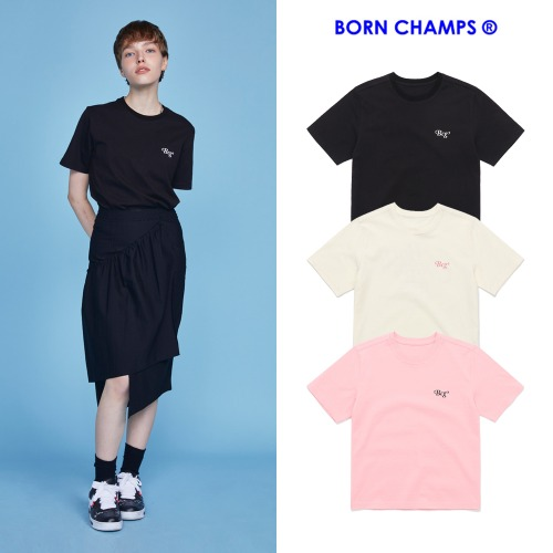 [BORNCHAMPS] BCG BASE TEE CETBGTS01 3COLOR