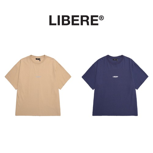 [LIBERE] OVERSIZE LOGO TEE SHIRTS 2COLOR