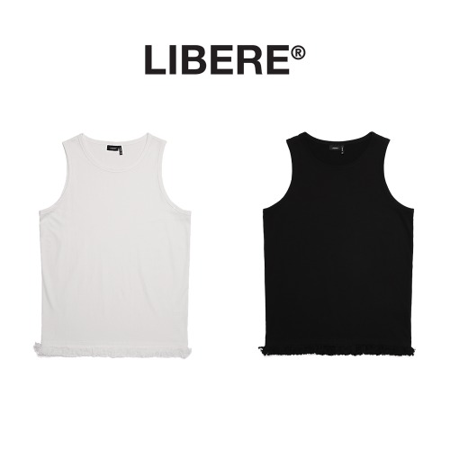 [LIBERE] LAYERED SLEEVELESS 2COLOR