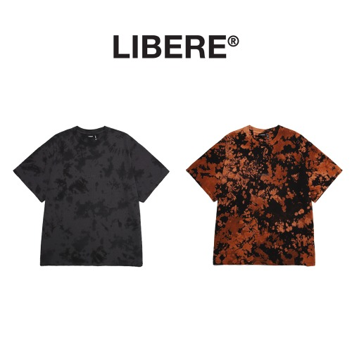 [LIBERE] TIE DYE TEE SHIRTS 2COLOR
