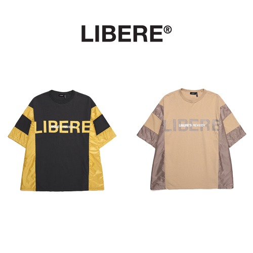 [LIBERE] POLY MIX T SHIRTS 2COLOR