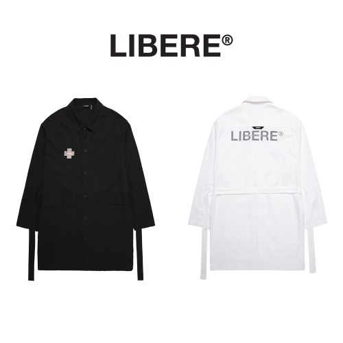 [LIBERE] OVER SHIRTS 2COLOR