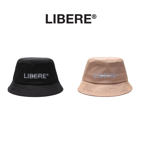 [LIBERE] LOGO BUCKET HAT 2COLOR
