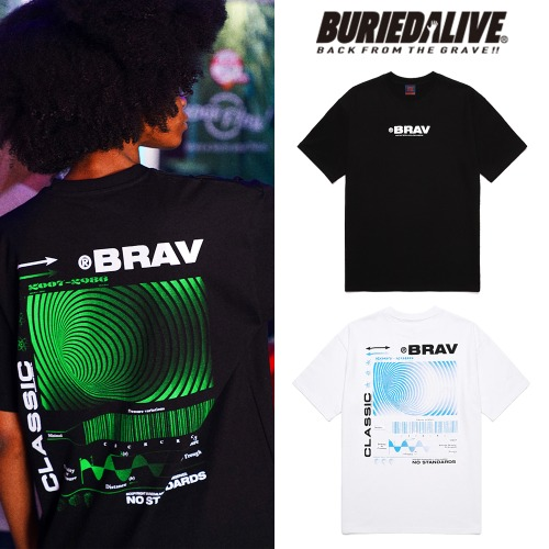 [BURIEDALIVE] BA SYSTEM TEE 2COLOR