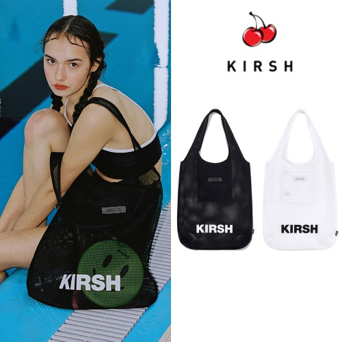 [KIRSH] KIRSH POCKET BEACH MESH BAG JH 2COLOR