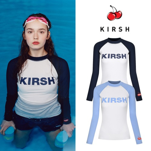 [KIRSH] KIRSH LOGO RASHGUARD JH 2COLOR