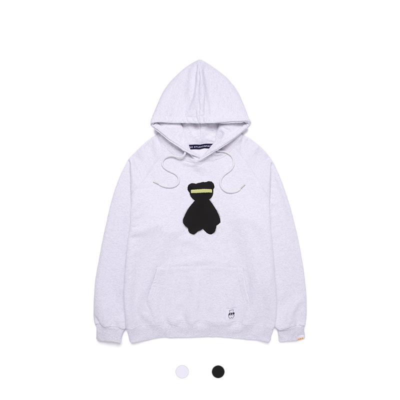 [AQOSTUDIO] AQO BIG BEAR HOODIE 2COLOR