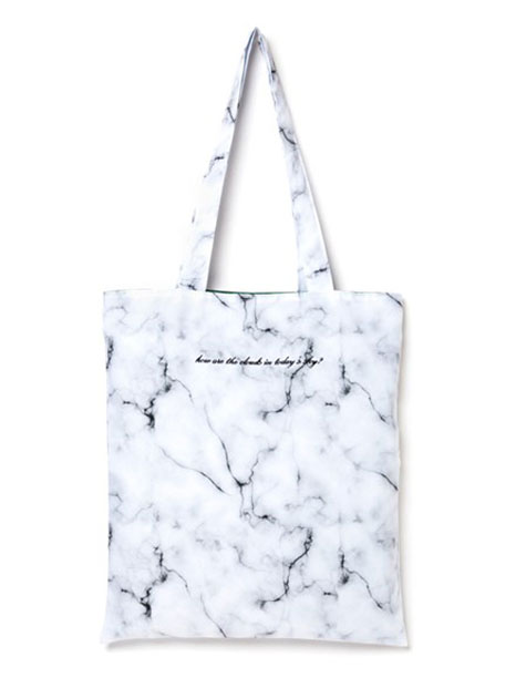 bpb marble shoulder bag