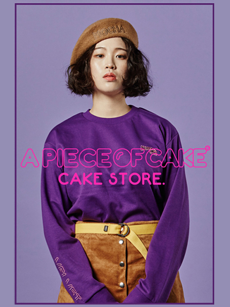 A PIECE OF CAKE-16F/W LOOKBOOK-