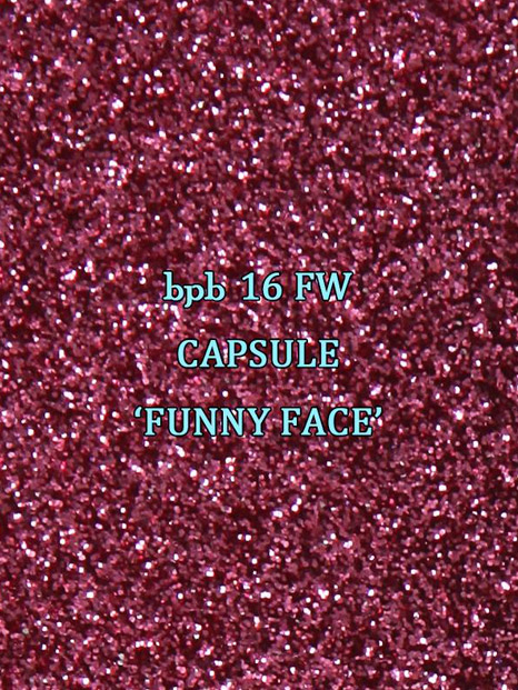 bpb-16FW CAPSULE 'FUNNY FACE'-