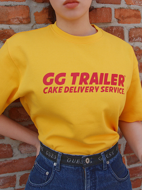 GG Trailer 1/2 T-shirts_Yellow