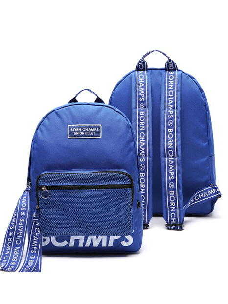 BORNCHAMPS X UNIONOBJET TAPE MESH POCKET BLUE