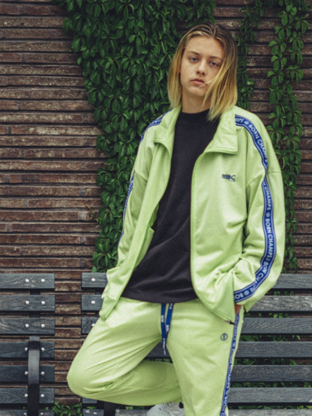 [BORN CHAMPS]BC IB TRACK TOP 01 LIME CEQCMJK03LI