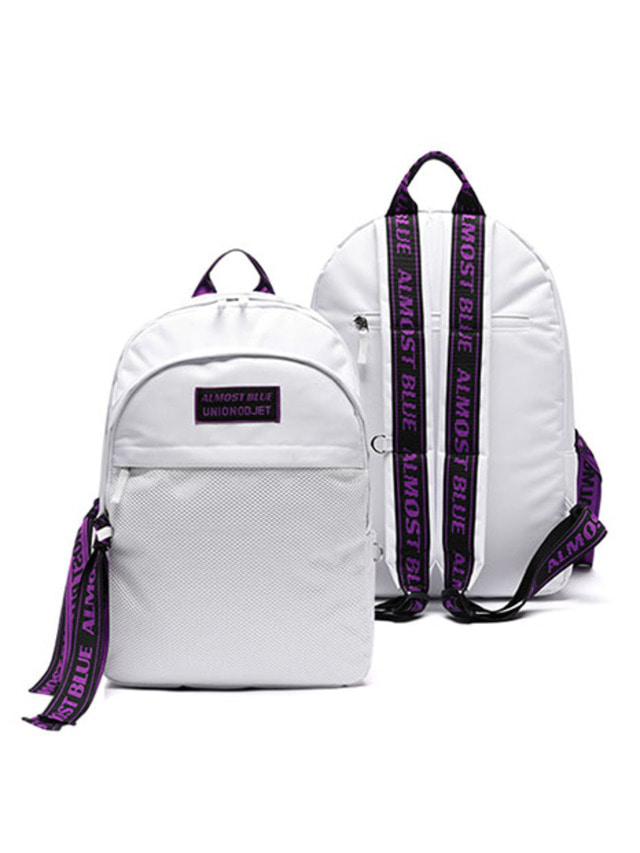 [UNIONOBJET]ULTRA VIOLET BACKPACK WHITE