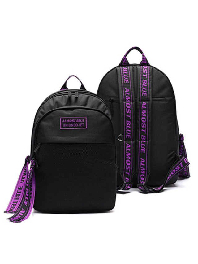 [UNIONOBJET]ULTRA VIOLET BACKPACK BLACK