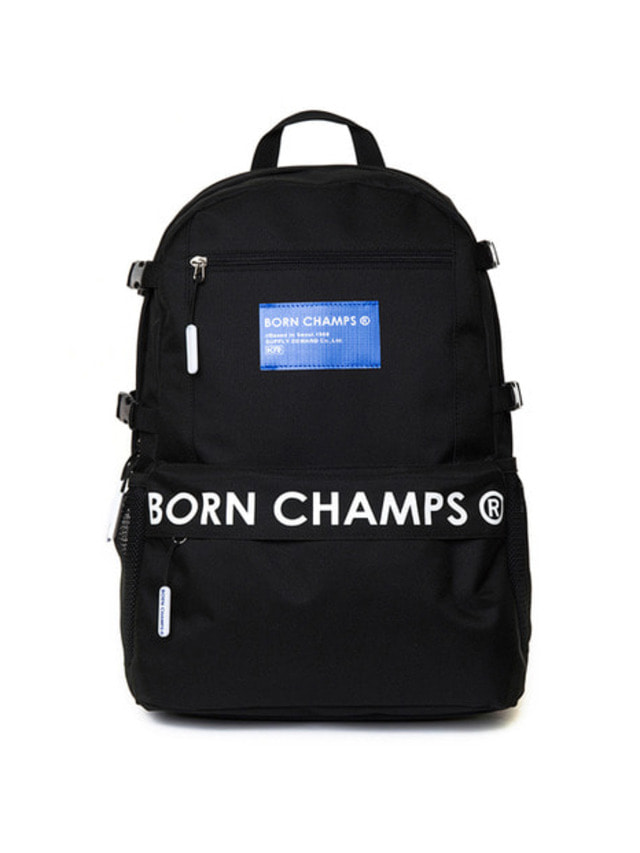 [BORN CHAMPS]BC TIME BACKPACK BLACK CERFMBG06BK