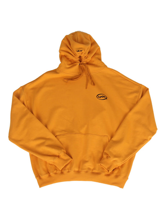 [A PIECE OF CAKE]Oval Logo Hoodie_Yellow